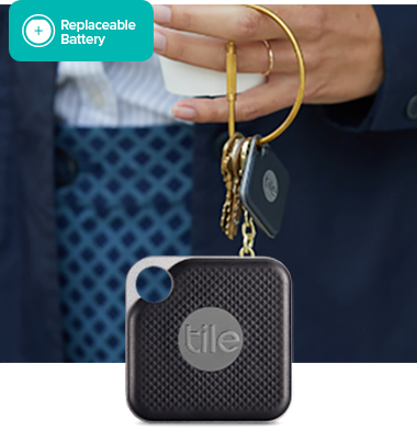 Tile Pro With Replaceable Battery Key Finder Phone