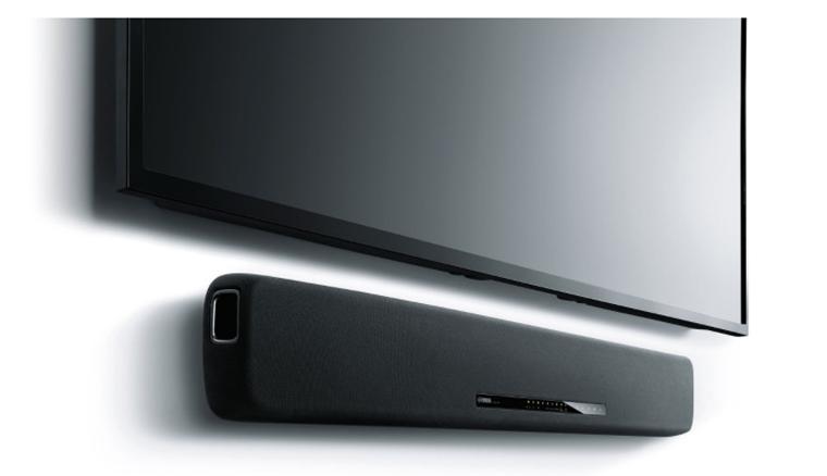 Yamaha yas 107 soundbar with dual built in subwoofers for Yamaha yas 107bl sound bar