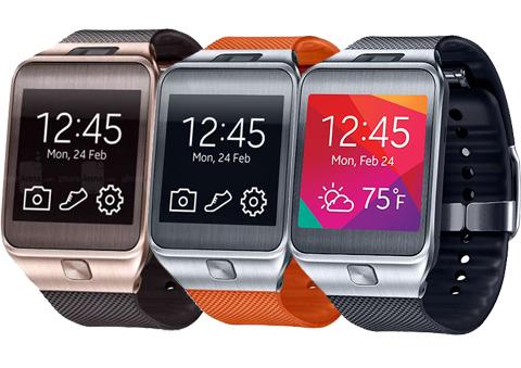 Samsung Galaxy Gear 2 Smartwatch (Wild Orange)