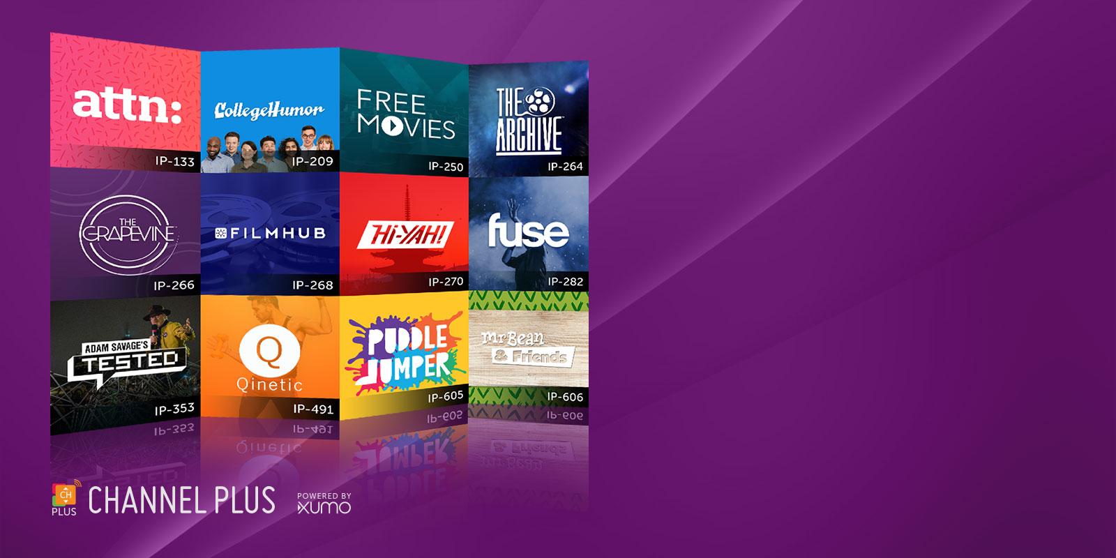 Channel Plus app icons