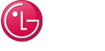 LG life's good logo on a black background