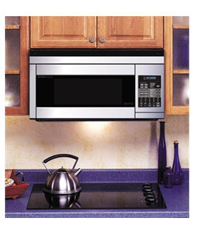 Convection Over The Range Microwave Bakes Roasts Grills
