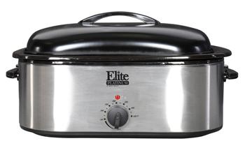 Elite Platinum Ero 210bk 18qt Roaster Oven With Buffet