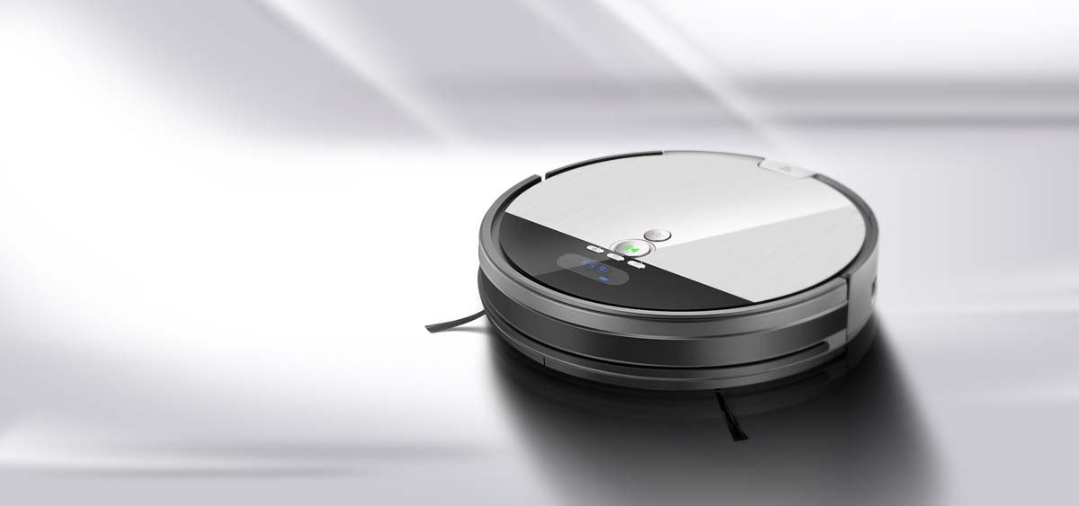 Smart 2-in-1 Planned Cleaning Robot Vacuum