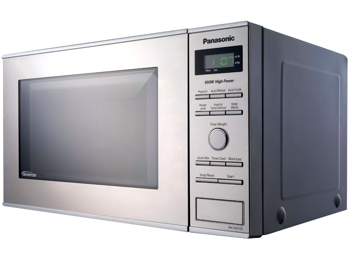 Panasonic Nn Sd372s Stainless 950w 0 8 Cu Ft Stainless