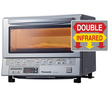 Panasonic Nb G110p Flashxpress Toaster Oven With Double