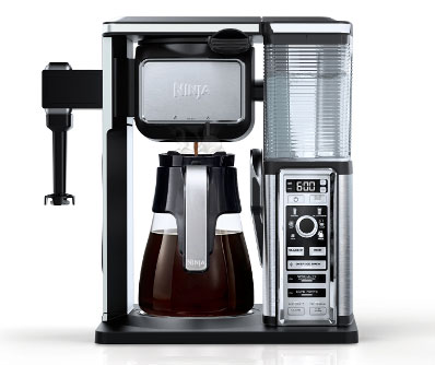Ninja Pod-Free Single Serve and Glass Carafe Coffee System (CF090)