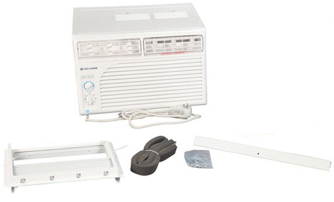 Cool living 5000 btu manual compact window air conditioner for 120v window air conditioner
