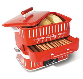 Hot Dog Steamer With Bun Steamer Manual Model