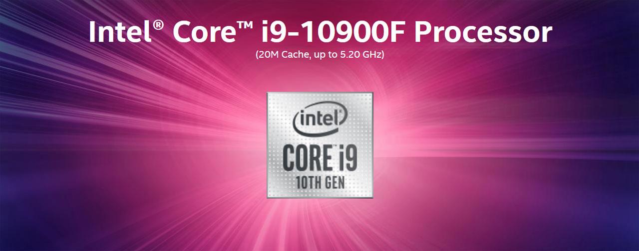 bater/ía de 2,80 GHz; z/ócalo: LGA1200; 65 W Intel Core i9-10900F BX8070110900F