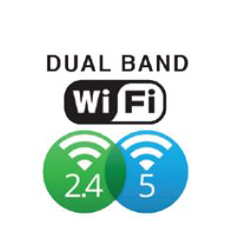 Icon for dual band Wi-Fi