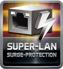 Icon for Super LAN Surge Protection