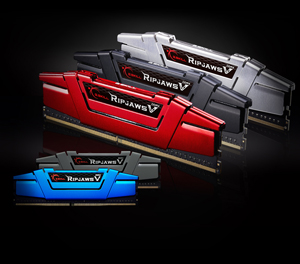 Ripjaws V series modules in mutiple colors