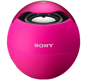 sony srs btv5 pink wireless mobile bluetooth speaker with built in mic pink. Black Bedroom Furniture Sets. Home Design Ideas