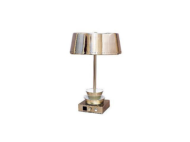 grandrich data port table lamp with built in telephone jack. Black Bedroom Furniture Sets. Home Design Ideas