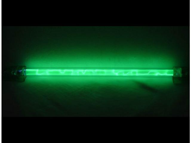 LOGISYS Computer LNSGN Green Liquid Neon Thunder Pattern LED Light