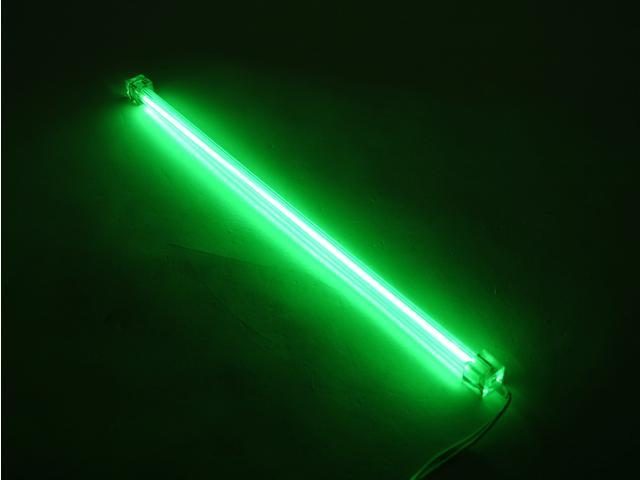 "LOGISYS Computer CLK15GN 15"" Green Deluxe Sound Activated Cold Cathode Kit"