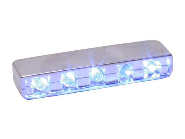 LOGISYS Computer MDLED5BL Blue 5LED LASER LIGHT
