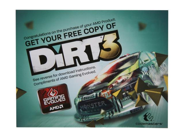 Codemasters Gift - DiRT 3 Coupon
