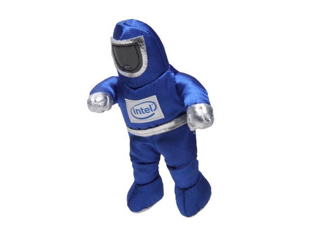 Intel Metallic Blue BunnyPeople Keytag