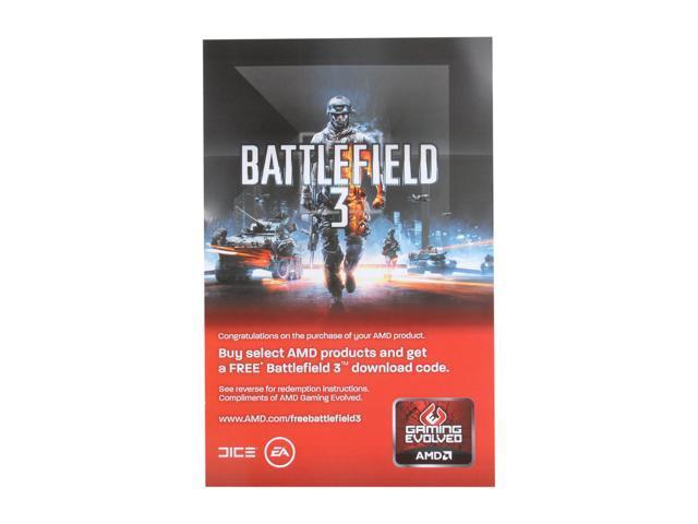 AMD Gift - Battlefield 3 coupon