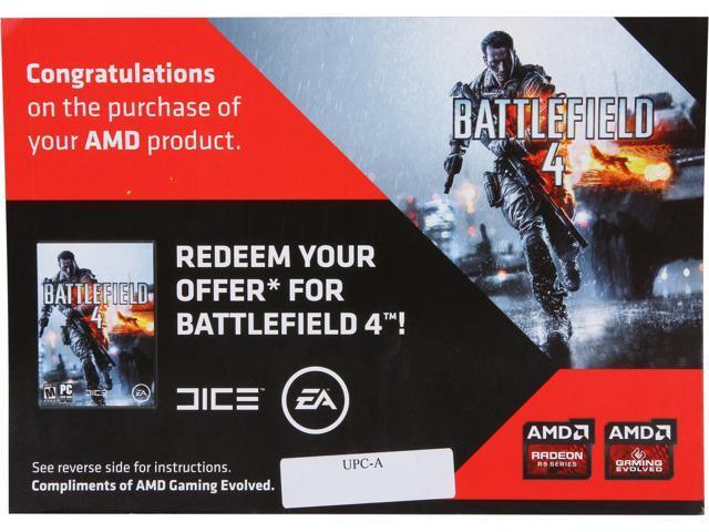 AMD Gift - Battlefield 4 Gam Voucher