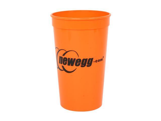 Newegg.com 21oz Plastic Orange Cup