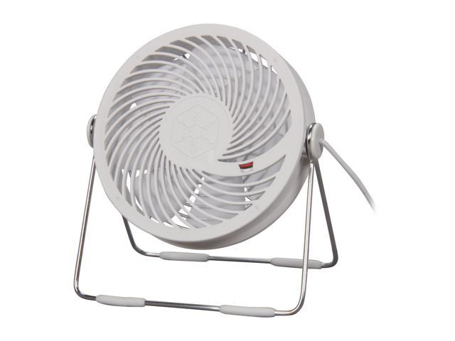 Silverstone AP121W-USB Air Penetractor USB Powered Desktop Fan, White