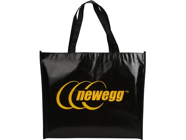 Newegg/MSI Shopping Bag, Non woven, Black