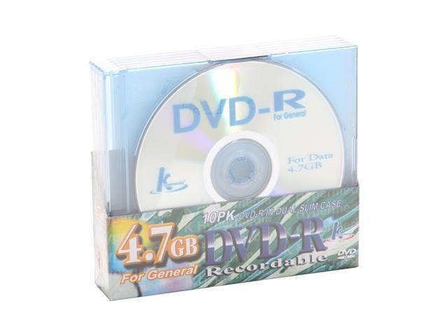Diablotek 4.7GB DVD+R Disc - 10 Packs