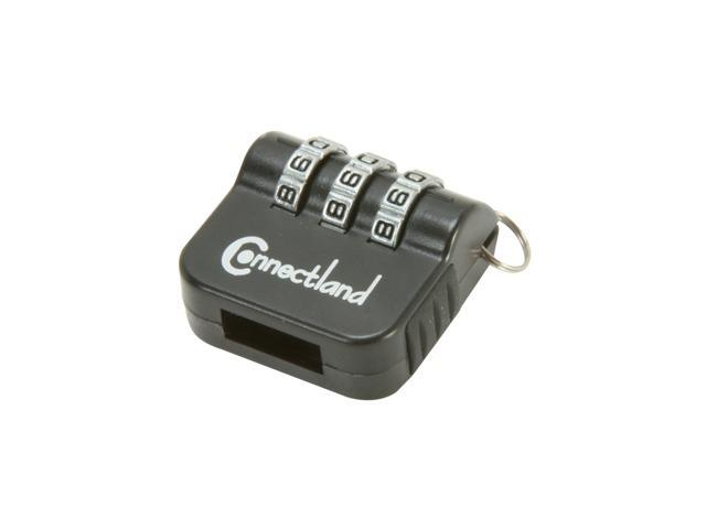 SYBA Connectland CL-ACC65022 USB Flash Drive Security Lock