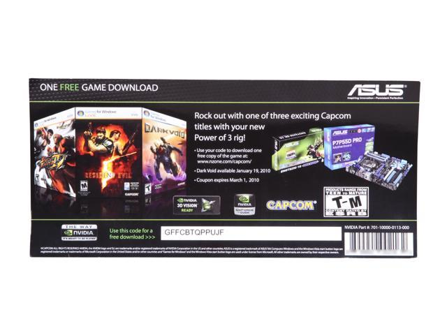 ASUS Power of 3 Game Coupon
