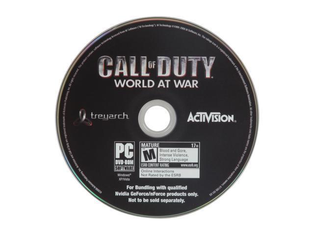 NVIDIA Gift Call of duty - World at war
