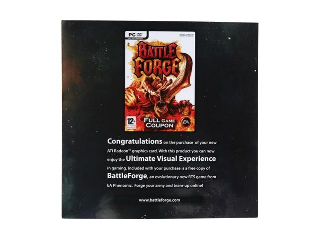 AMD Gift Battleforge Game Coupon