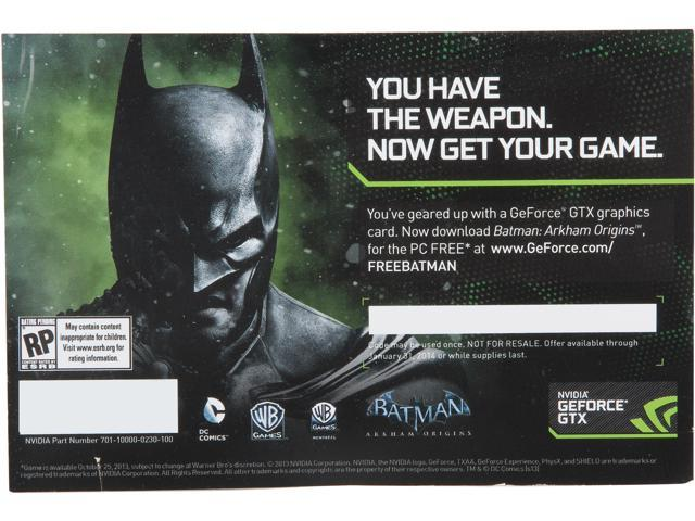 Gift - Batman Game Digital Code