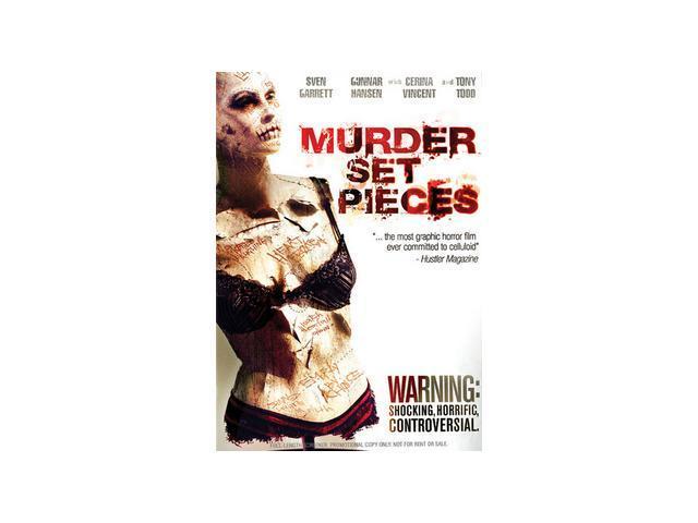 Murder Set Pieces Sven Garrett, Gunnar Hansen, Cerina Vincent, Tony Todd, Jade Risser