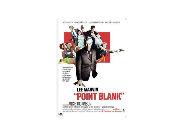 Point Blank Lee Marvin, Angie Dickinson, Keenan Wynn, Carroll O'Connor, Lloyd Bochner, Michael Strong, John Vernon, Sharon Acker, James B. Sikking, Roberta Haynes