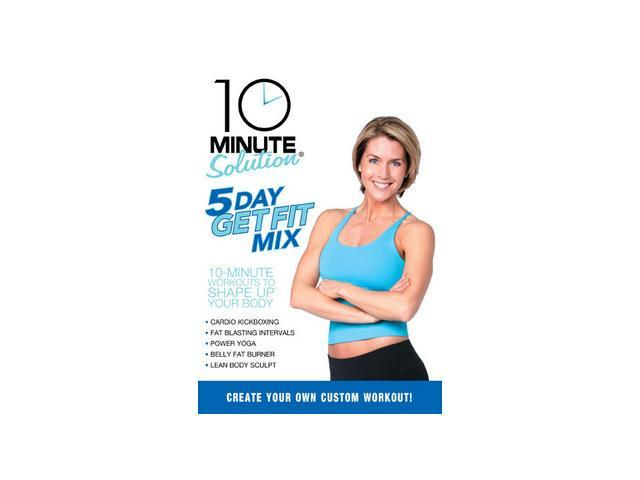 10 Minute Solution: Five Day Get Fit Mix
