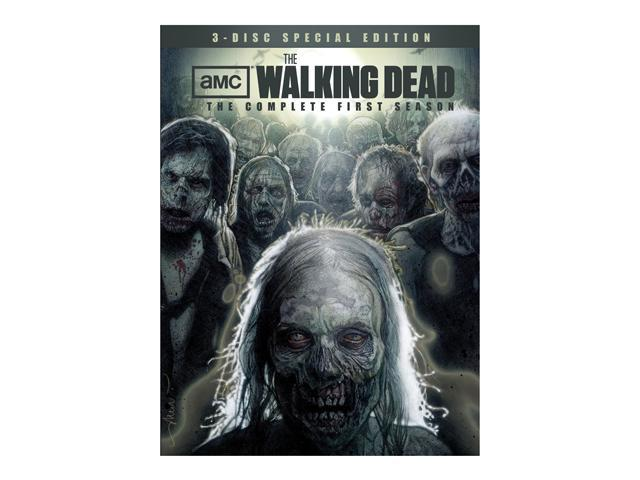 The Walking Dead: The Complete First Season Special Edition DVD Andrew Lincoln, Emma Bell, Michael Rooker, Norman Reedus, ...