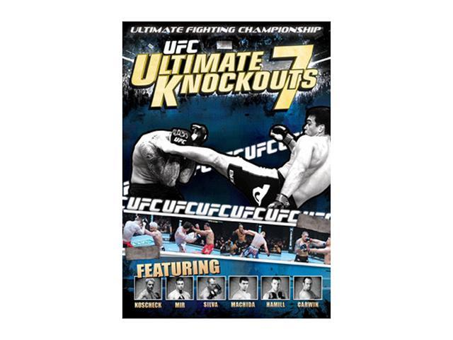 UFC: Ultimate Knockouts, Vol. 7 (DVD / WS) Anderson (The Spider) Silva, Quinton (Rampage) Jackson, Lyoto (The Dragon) Machida, Shane Carwin, (The Axe Murderer) Wanderlei Silva