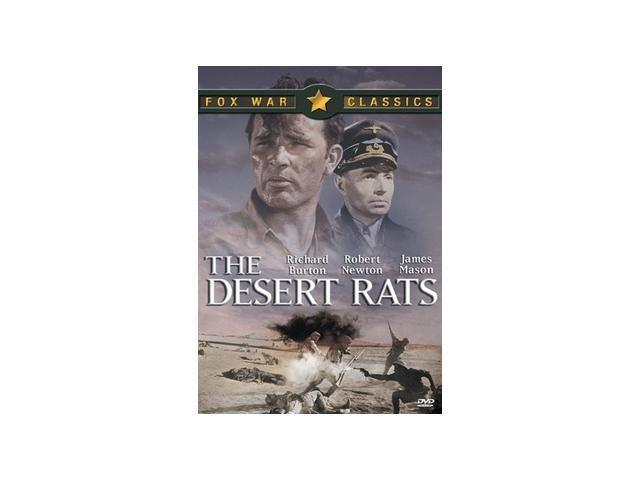 The Desert Rats Richard Burton, James Mason, Robert Newton