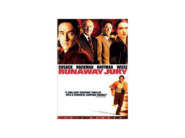 Runaway Jury John Cusack, Rachel Weisz, Gene Hackman, Dustin Hoffman, Jeremy Piven, Luis Guzm?n, Bruce McGill, Nick Searcy, Stanley Anderson, Bill Nunn