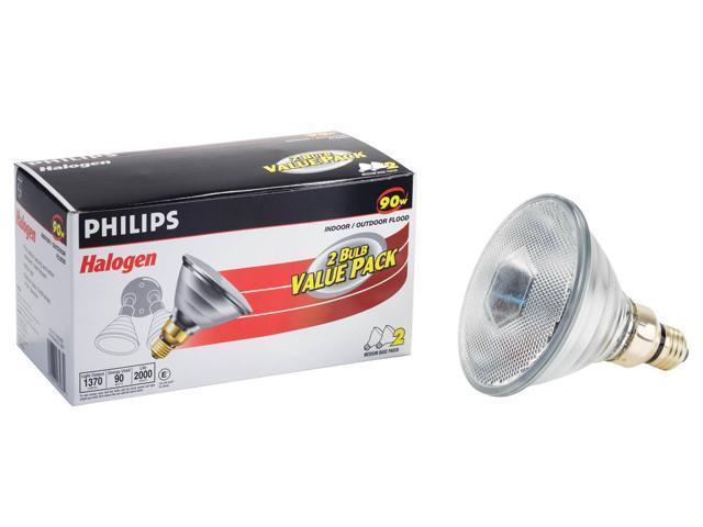 Phillips 278242 2 Pack 90 Watt Par 38 Halogen Indoor