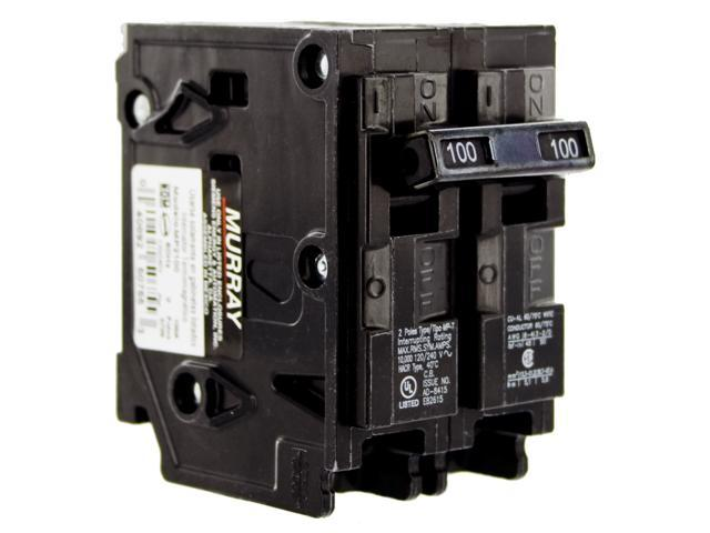 siemens mp2100 100 amp pole circuit breaker newegg