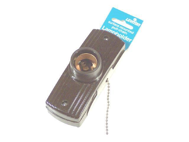 Leviton L10-5235-000 Pull Chain Lampholder