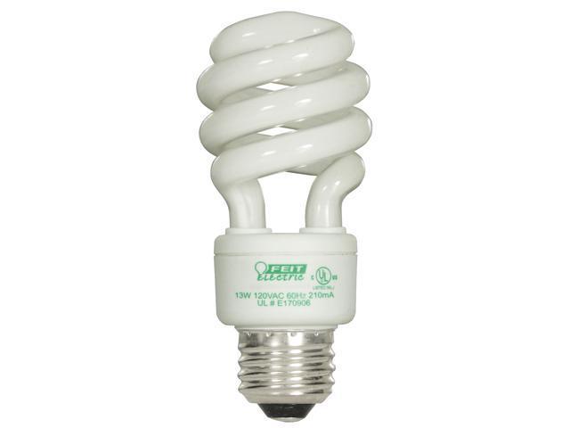 Feit Electric ESL13T/D/4 4 Count 13 Watt Daylight Mini Twist Light Bulbs