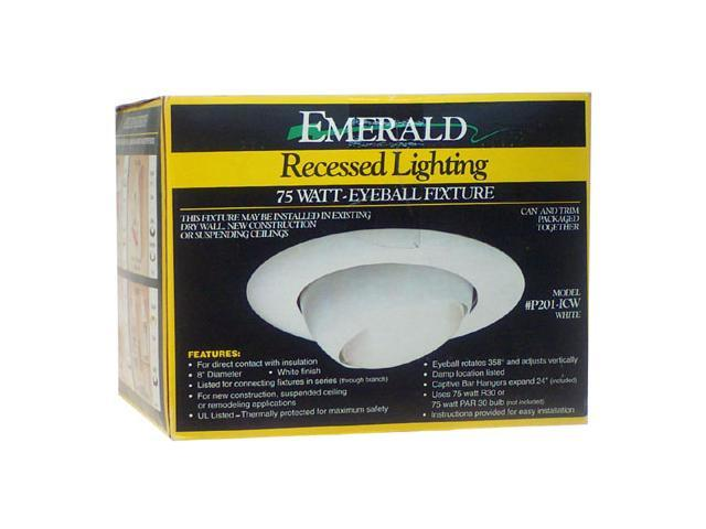 Emerald White Recessed Light Fixture Kit