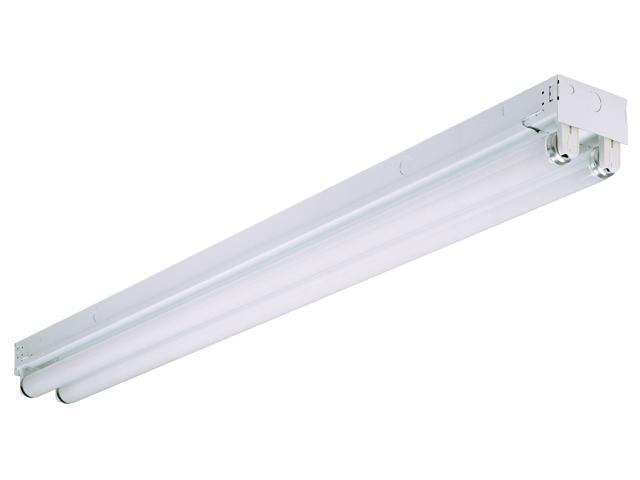 Lithonia Lighting White 8' Striplight General-Purpose Fluorescent