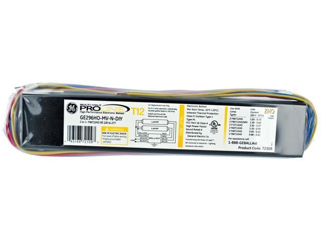 GE Lighting 2 HO High Performance Electronic Ballast