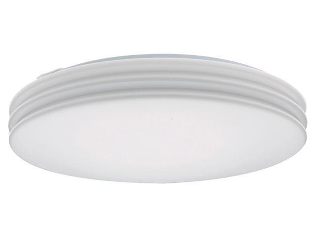"Lithonia Lighting Adia Flush Mount White 15"" Round Fluorescent Light"